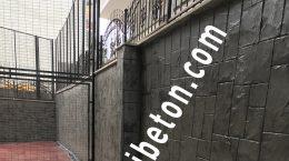 Duvar Baskı Beton Uygulaması 3